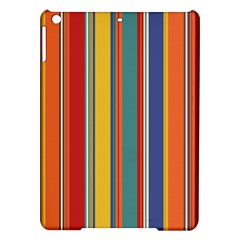 Stripes Background Colorful iPad Air Hardshell Cases