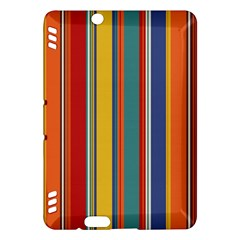 Stripes Background Colorful Kindle Fire HDX Hardshell Case