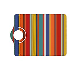 Stripes Background Colorful Kindle Fire HD (2013) Flip 360 Case