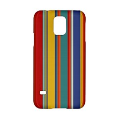 Stripes Background Colorful Samsung Galaxy S5 Hardshell Case