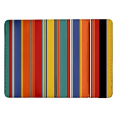 Stripes Background Colorful Samsung Galaxy Tab Pro 12.2  Flip Case