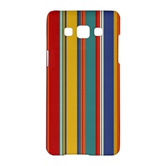 Stripes Background Colorful Samsung Galaxy A5 Hardshell Case
