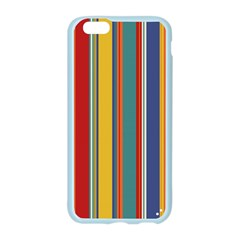 Stripes Background Colorful Apple Seamless iPhone 6/6S Case (Color)