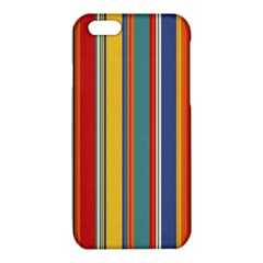 Stripes Background Colorful iPhone 6/6S TPU Case