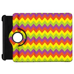 Colorful Zigzag Stripes Background Kindle Fire HD 7