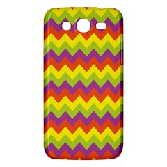 Colorful Zigzag Stripes Background Samsung Galaxy Mega 5.8 I9152 Hardshell Case