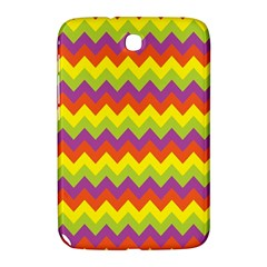 Colorful Zigzag Stripes Background Samsung Galaxy Note 8.0 N5100 Hardshell Case