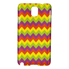 Colorful Zigzag Stripes Background Samsung Galaxy Note 3 N9005 Hardshell Case