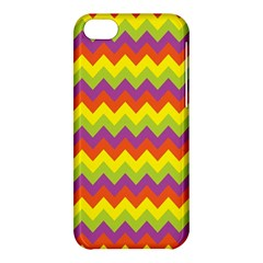 Colorful Zigzag Stripes Background Apple Iphone 5c Hardshell Case