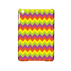 Colorful Zigzag Stripes Background iPad Mini 2 Hardshell Cases
