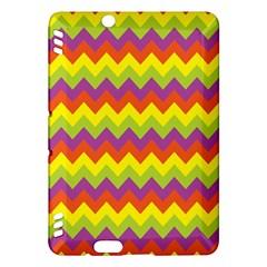 Colorful Zigzag Stripes Background Kindle Fire HDX Hardshell Case