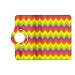 Colorful Zigzag Stripes Background Kindle Fire HD (2013) Flip 360 Case Front