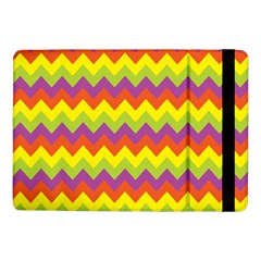 Colorful Zigzag Stripes Background Samsung Galaxy Tab Pro 10.1  Flip Case