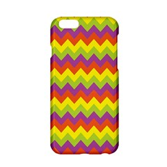 Colorful Zigzag Stripes Background Apple iPhone 6/6S Hardshell Case