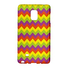 Colorful Zigzag Stripes Background Galaxy Note Edge