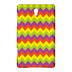 Colorful Zigzag Stripes Background Samsung Galaxy Tab S (8.4 ) Hardshell Case