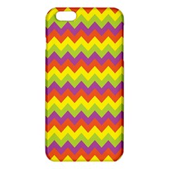 Colorful Zigzag Stripes Background Iphone 6 Plus/6s Plus Tpu Case