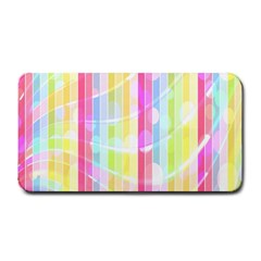 Abstract Stripes Colorful Background Medium Bar Mats