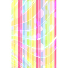 Abstract Stripes Colorful Background 5 5  X 8 5  Notebooks