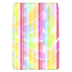 Abstract Stripes Colorful Background Flap Covers (L)