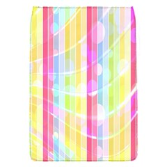 Abstract Stripes Colorful Background Flap Covers (S)