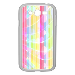 Abstract Stripes Colorful Background Samsung Galaxy Grand DUOS I9082 Case (White)