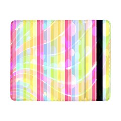 Abstract Stripes Colorful Background Samsung Galaxy Tab Pro 8.4  Flip Case