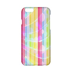Abstract Stripes Colorful Background Apple iPhone 6/6S Hardshell Case
