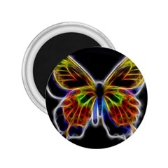 Fractal Butterfly 2.25  Magnets