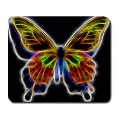 Fractal Butterfly Large Mousepads