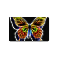 Fractal Butterfly Magnet (Name Card)