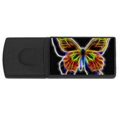 Fractal Butterfly USB Flash Drive Rectangular (2 GB)