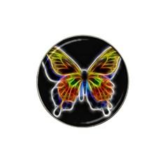 Fractal Butterfly Hat Clip Ball Marker
