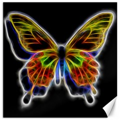 Fractal Butterfly Canvas 16  X 16