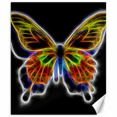 Fractal Butterfly Canvas 20  X 24