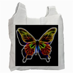 Fractal Butterfly Recycle Bag (Two Side)