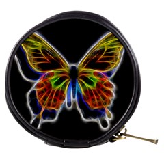 Fractal Butterfly Mini Makeup Bags