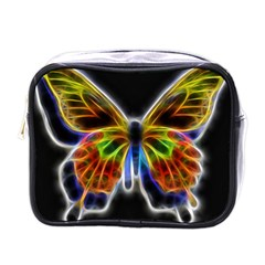 Fractal Butterfly Mini Toiletries Bags