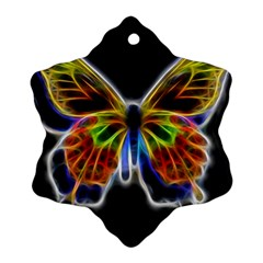 Fractal Butterfly Ornament (Snowflake)