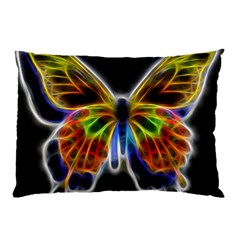 Fractal Butterfly Pillow Case (Two Sides)