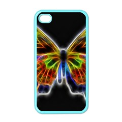 Fractal Butterfly Apple iPhone 4 Case (Color)