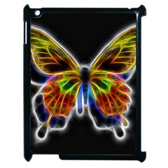 Fractal Butterfly Apple Ipad 2 Case (black)