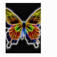 Fractal Butterfly Large Garden Flag (Two Sides)
