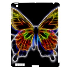 Fractal Butterfly Apple iPad 3/4 Hardshell Case (Compatible with Smart Cover)