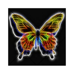 Fractal Butterfly Acrylic Tangram Puzzle (6  x 6 )