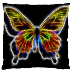 Fractal Butterfly Large Cushion Case (Two Sides)