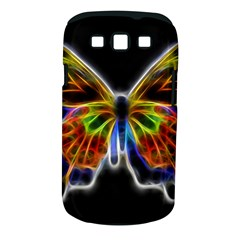Fractal Butterfly Samsung Galaxy S III Classic Hardshell Case (PC+Silicone)