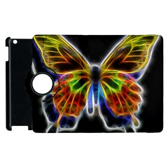 Fractal Butterfly Apple iPad 2 Flip 360 Case