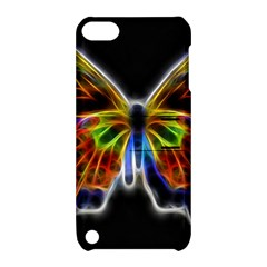 Fractal Butterfly Apple iPod Touch 5 Hardshell Case with Stand