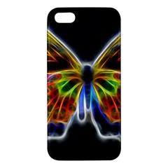 Fractal Butterfly Apple iPhone 5 Premium Hardshell Case